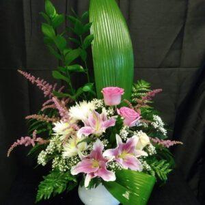Arrangements floraux modernes